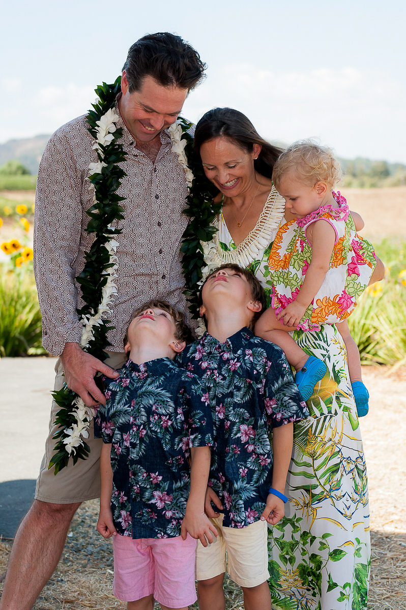 Baby Luau + Family Reunion