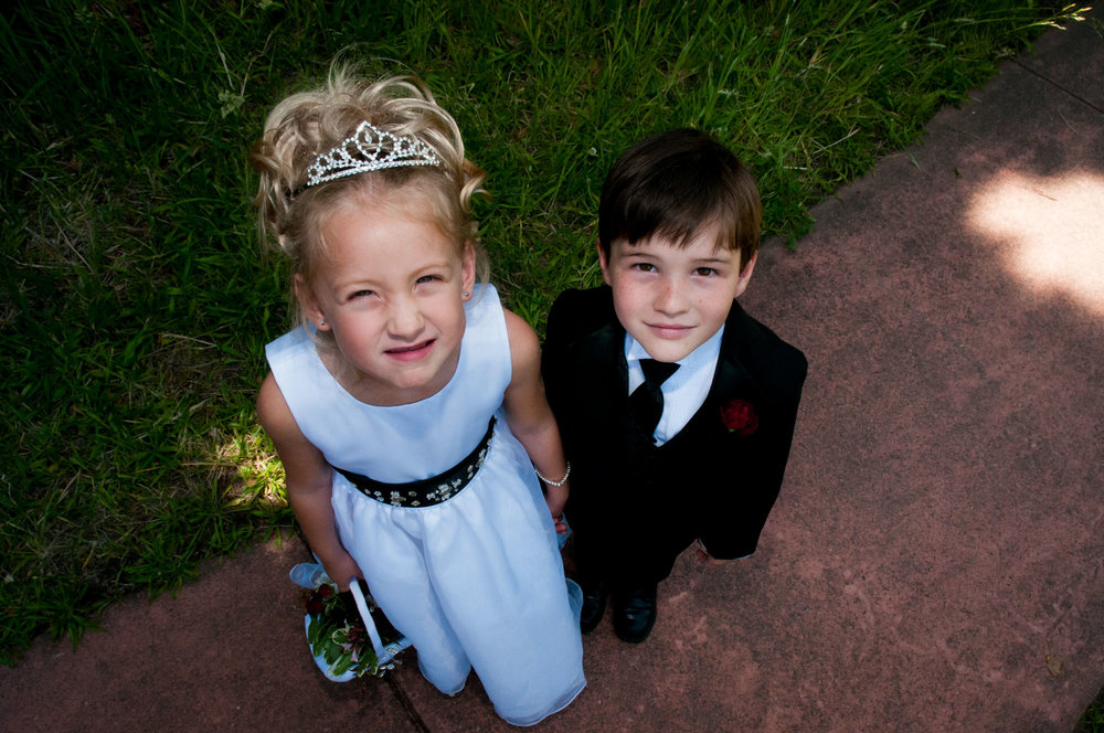 Flower Girl + Ring Bearer | Hans Fahden Winery, Calistoga, California