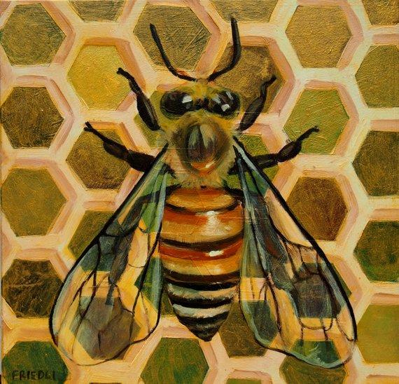 """""""Golden Honeybee"""""""