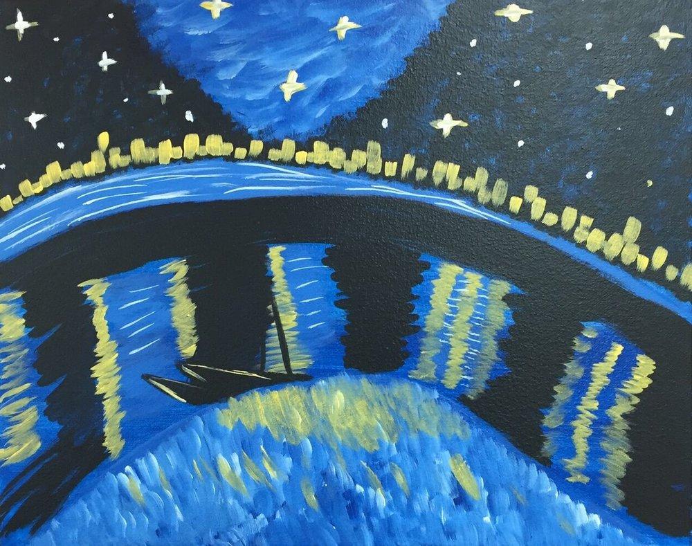 Starry Night Under the Rhone.jpg