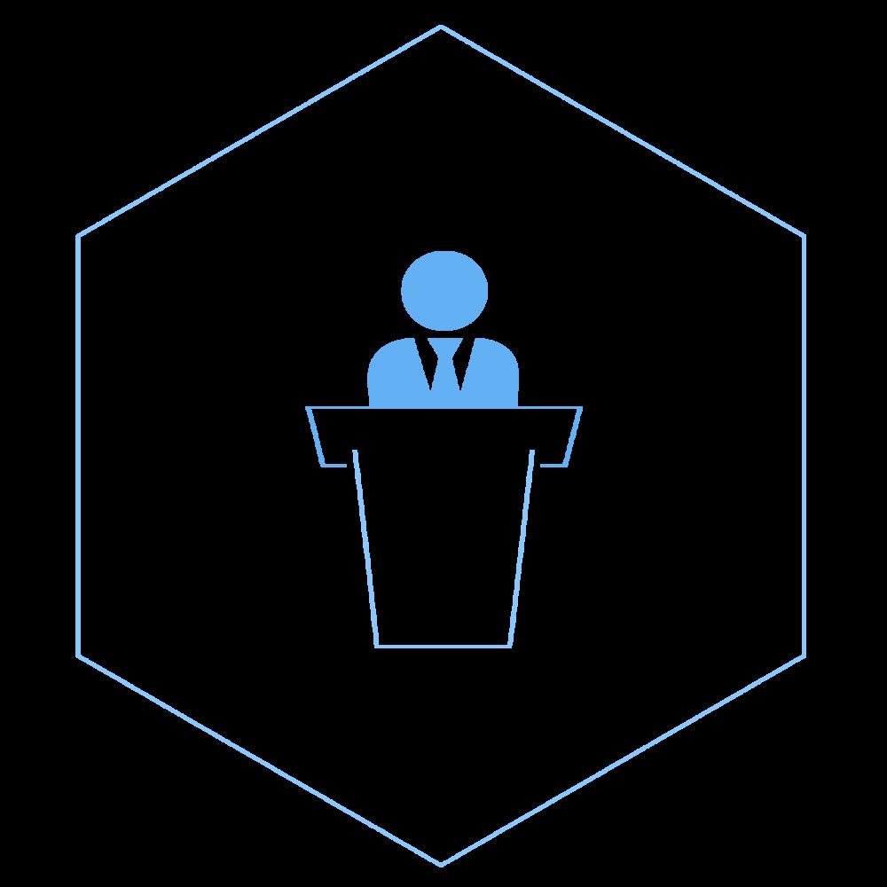 Presenter_podium