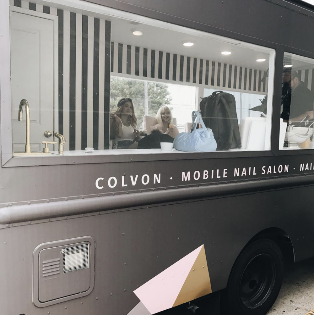 Mobile Nail Spa Los Angeles: Private Events — COLVON