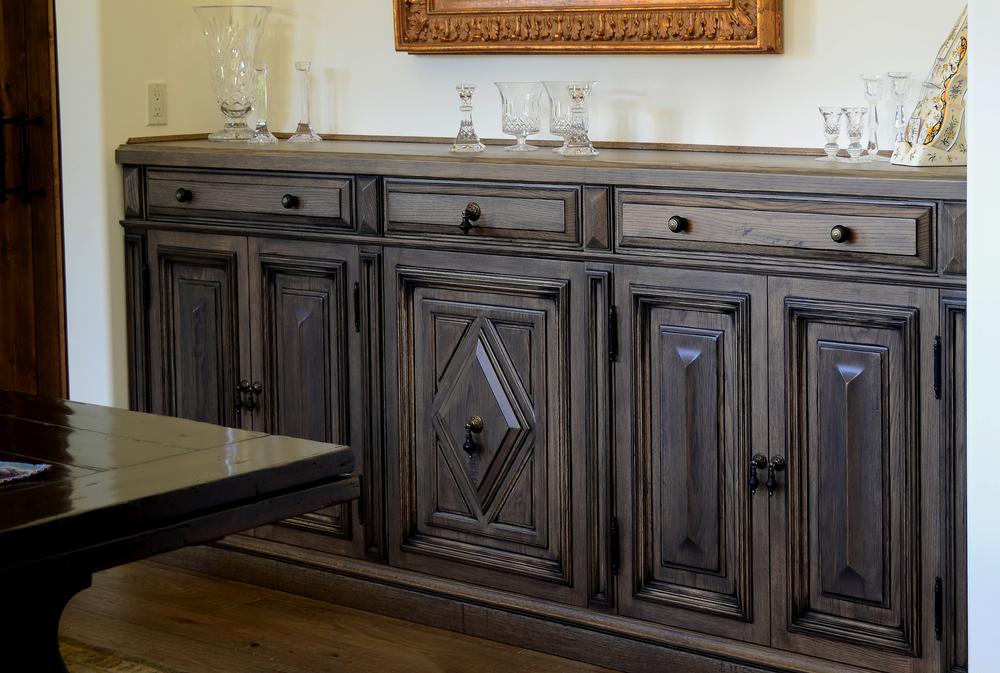 Custom White Oak Sideboard