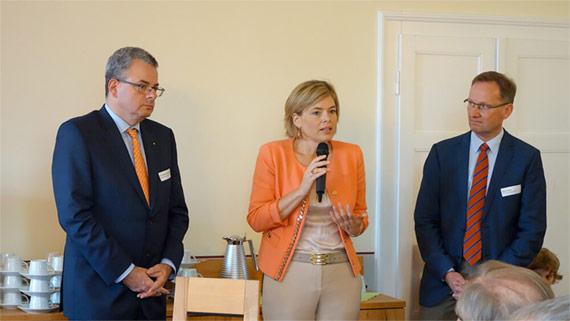 Besuch aus Mainz von Julia Klöckner (CDU - MdL) und Dr. Andreas Nick (CDU - MdB)