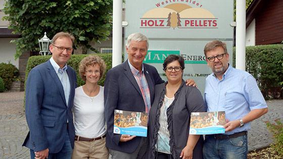 Spende aus dem Schulweg in Langenbach für die Schule in Peru
