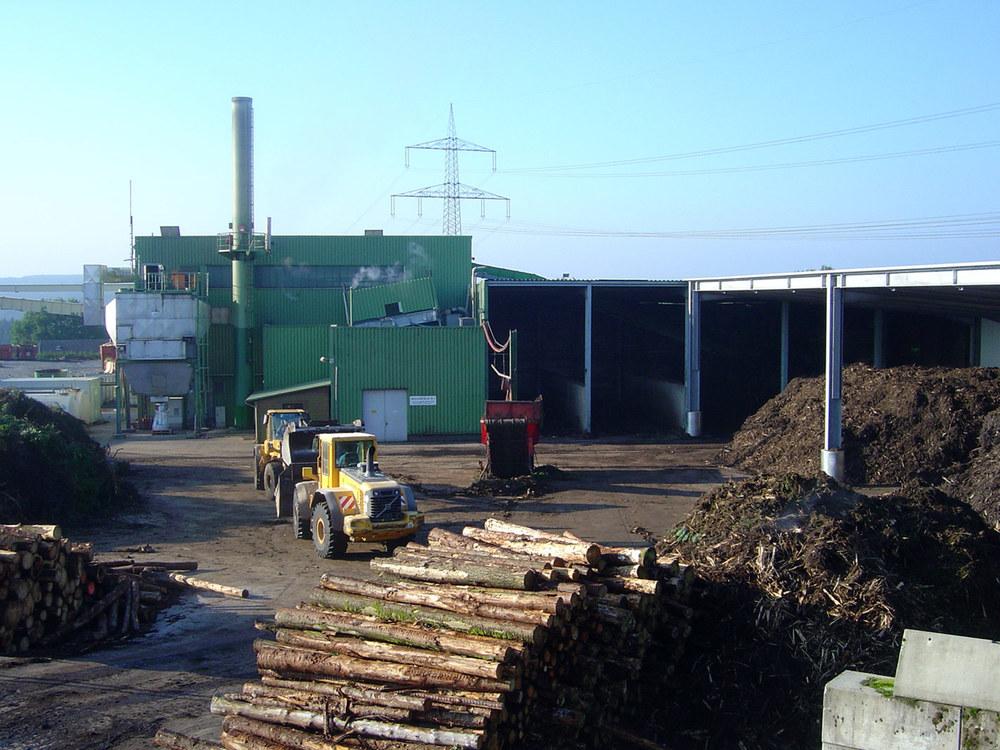 Biomasseheizkraftwerk (BMHKW)