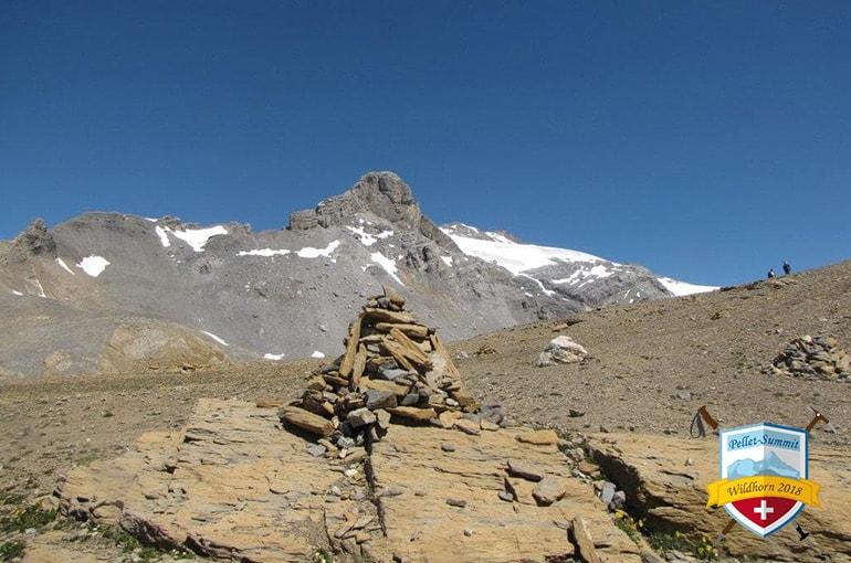Mont Pucel und Wildhorn von La Selle