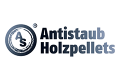 Antistaub Holzpellets Logo