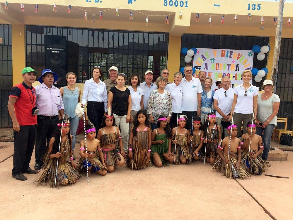 Bauprojekt in Peru abgeschlossen