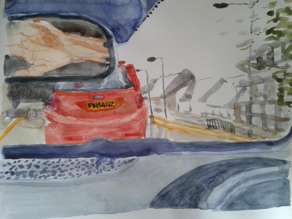 Driving to Harrow