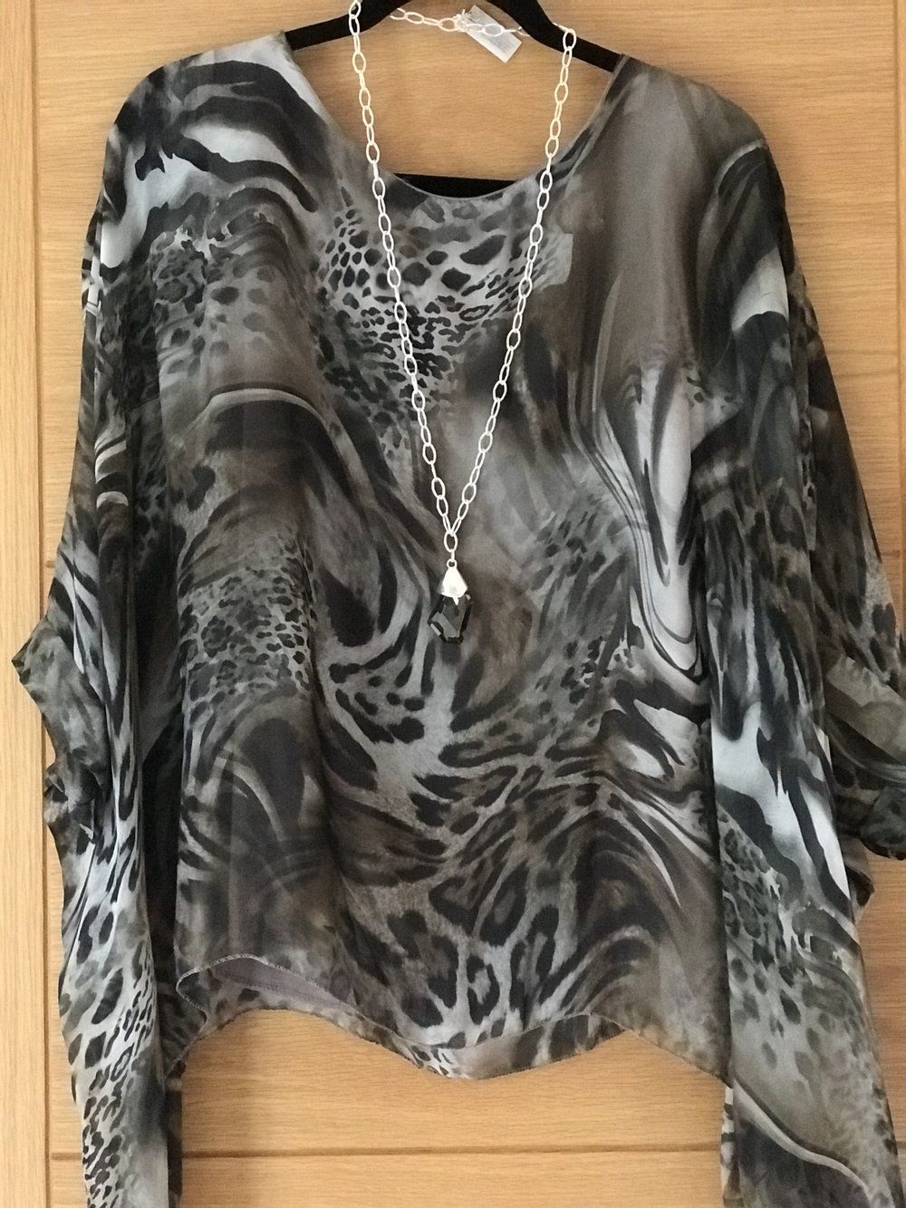 Top, top… - is this beauty …just add jeans, pumps and faux fur filet for day time, black skinny jeans, leather jacket and killer heels for the evening (£38)