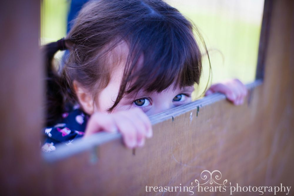 Children's Portrait: Libby at 4