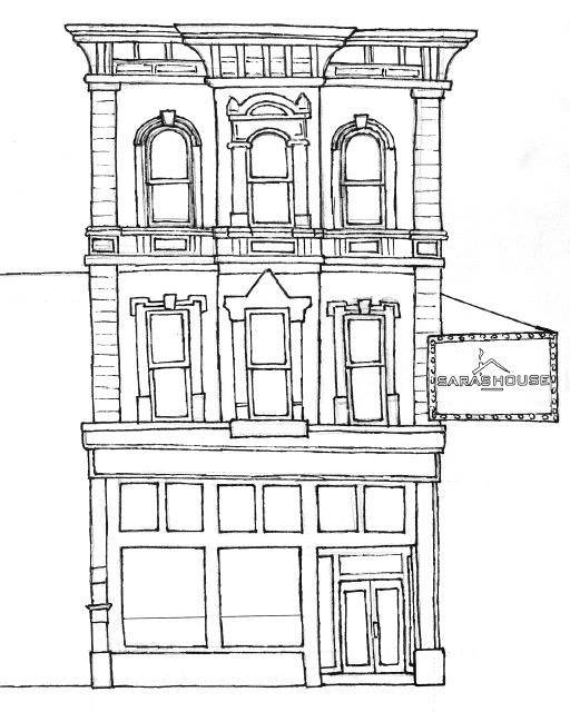 Sara's House Sketch