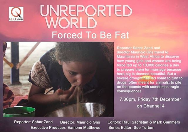 This is not a drill. It's on people. This Friday 7.30pm  @saharzand5  @unreportedc4 / @channel4news