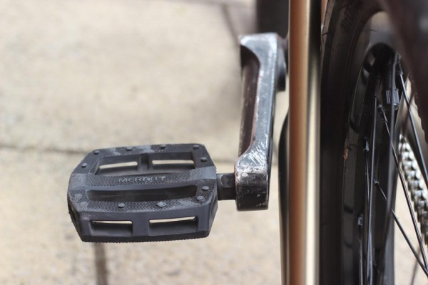 Who needs pegs when you have pedals and cranks right?