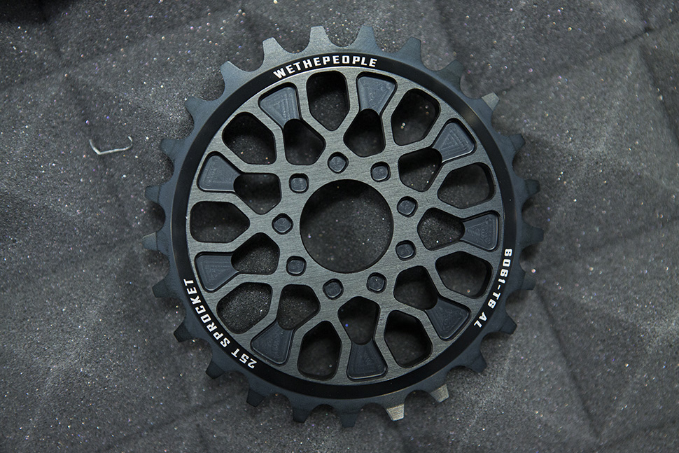 Signature sprocket for Felix Prangenberg - The Pathfinder. Photo Courtesy RIDEBMX