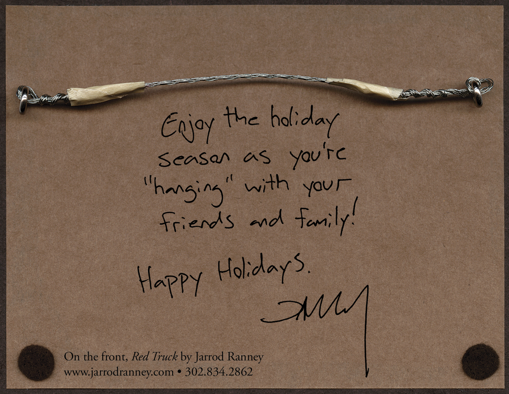 2011 Holiday Self Promotional Postcard (back)