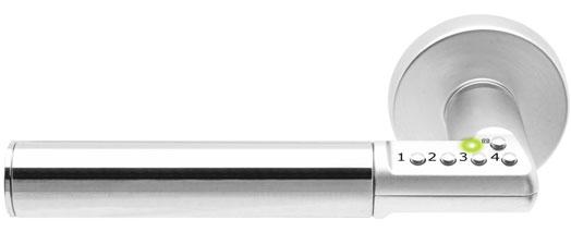 Intelligente deurgreep beveiliging Transelec