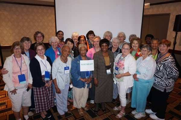 PW voting delegates from the Synod of the Northeast