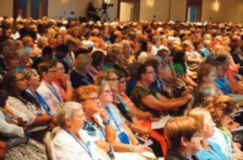 Plenary sessions at churchwide are very moving with more than 1700 women in one room.