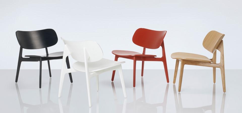PLC Lounge chair by PearsonLloyd