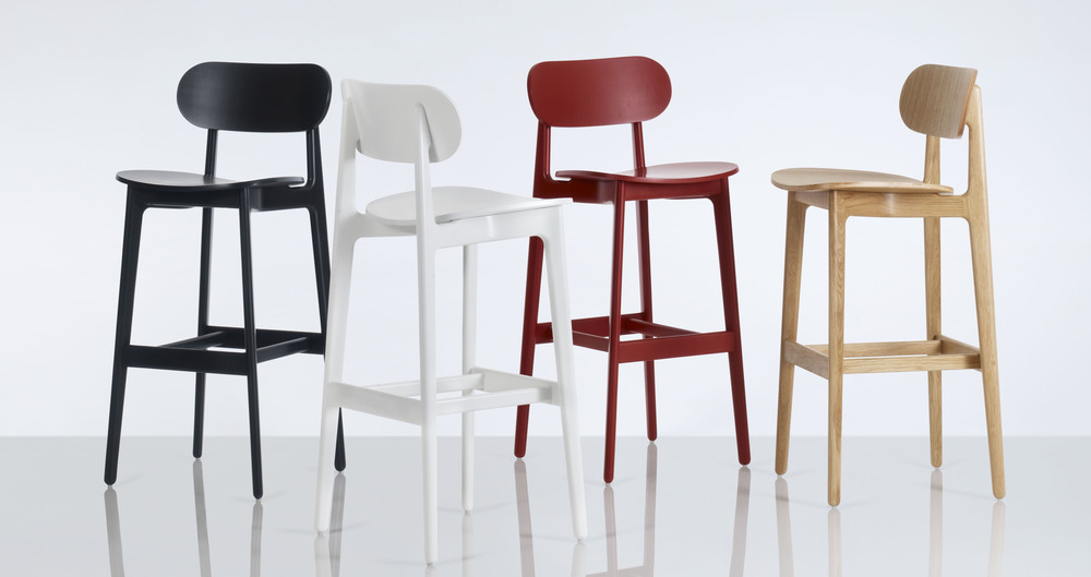 PLC Bar Stool by PearsonLloyd