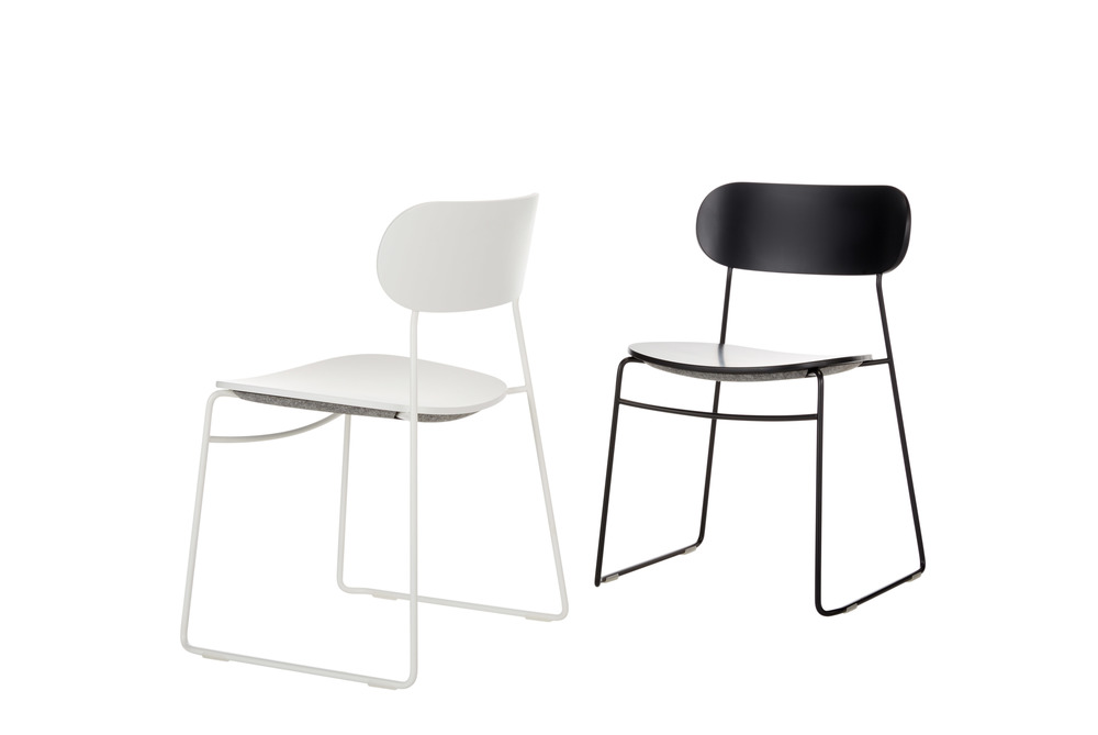 PLC Wire Stool by PearsonLloyd