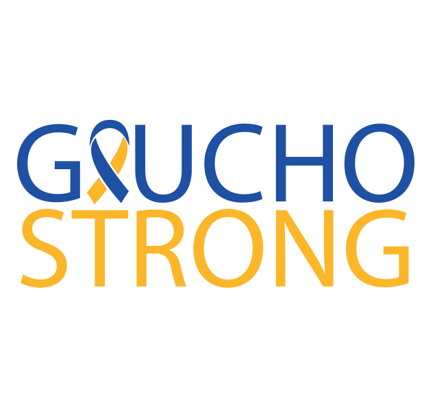 #gauchostrong was a popular hashtag, I created this icon/logo for the hashtag and produced this on grey t-shirt for donations.