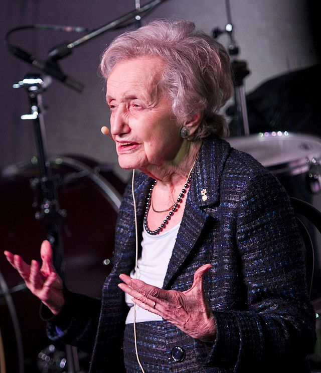 Brenda Milner in 2011 | Photo by   Eva Blue