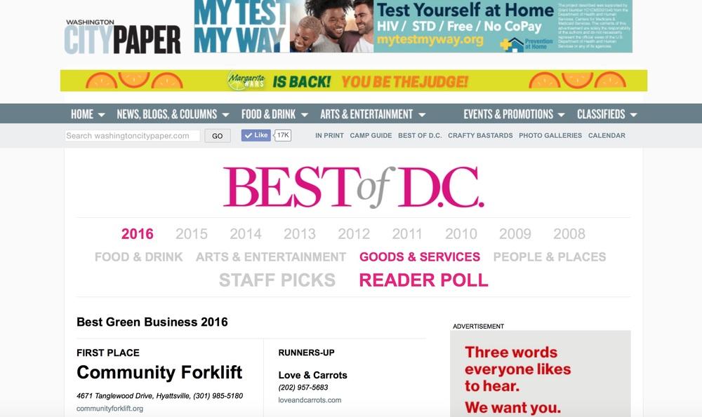 Best of DC - 2016