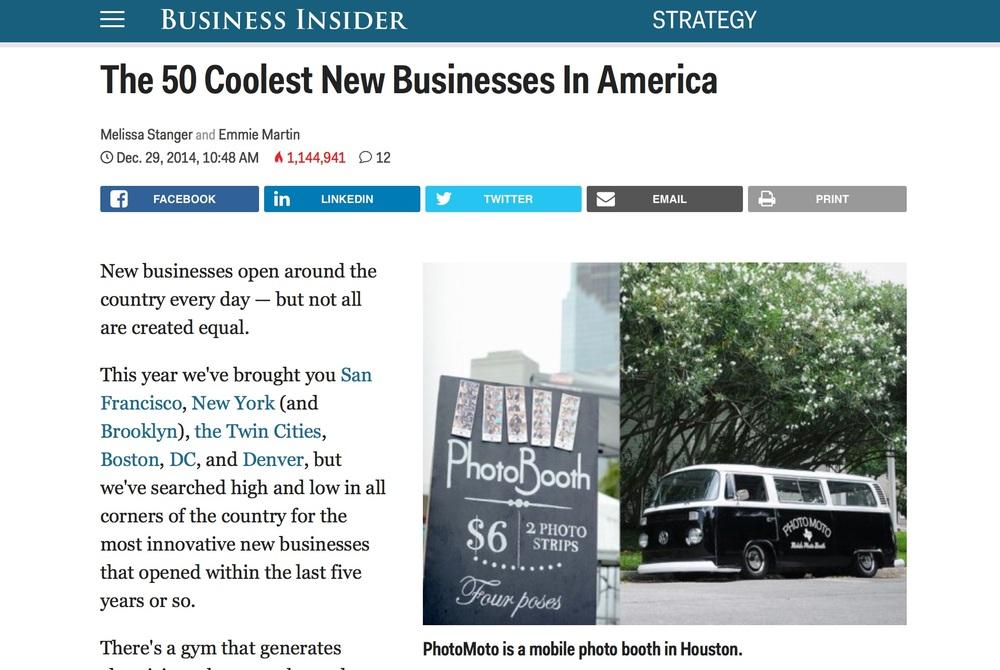 Business Insider - December 2014