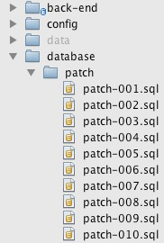 patch files directory