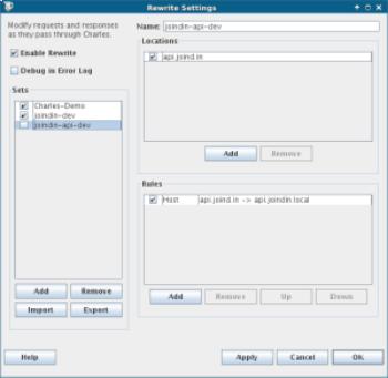 Settings for API Development