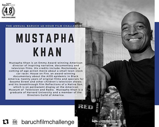Still haven't signed up for the film challenge? You have until Friday to do so at: usg-bearcat.com/filmchallenge  #Repost @baruchfilmchallenge ・・・ Our first judge, Mustapha Khan, is an Emmy Award-winning American director of inspiring narrative, documentary and television films.  Check out his website: http://www.mustaphakhan.com/  #baruch #bebaruch #baruchcollege #baruchfilmchallenge #filmfestival  #film #filmmaking #filmchallenge #mustaphakhan #nycfilm