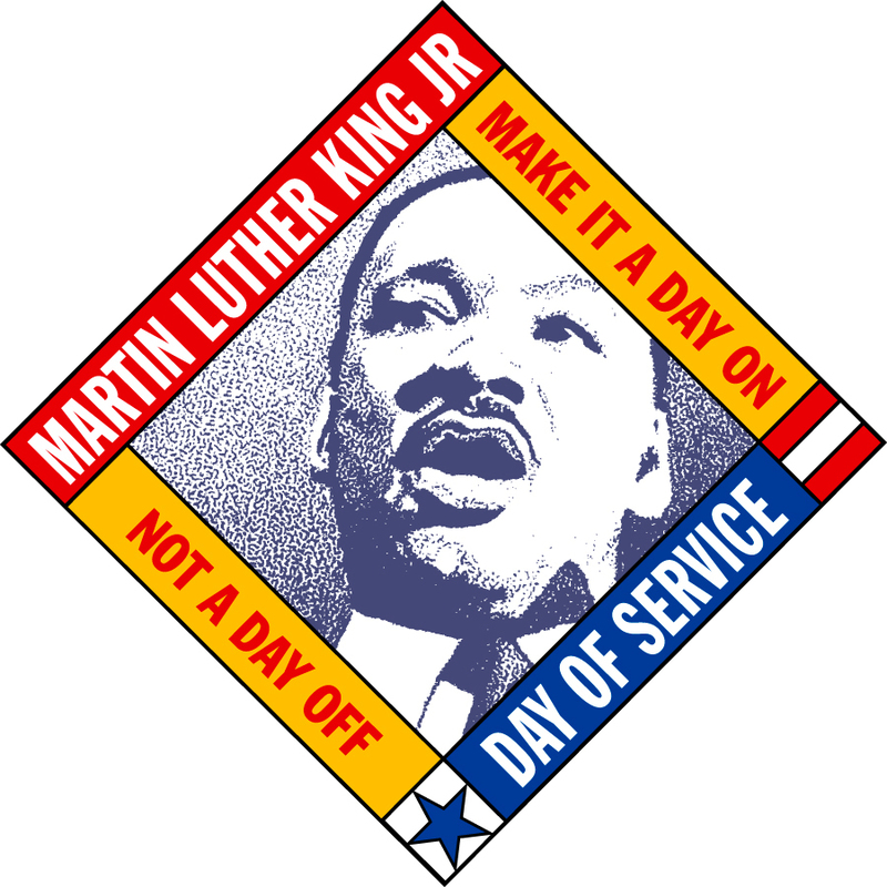 MLK Day of Service - YBMC takes the day ON!