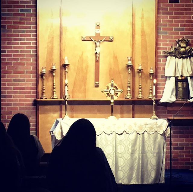 We adore you, Oh Christ, and we praise you. #ROOTEDnight #adoration #praiseandworship  #jpgacademy