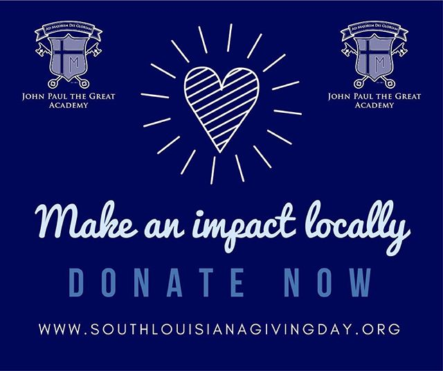 Help us complete our Phase 1.3 campus improvement projects by donating to us through South Louisiana Giving Day! Link in bio! #sola #igivesola