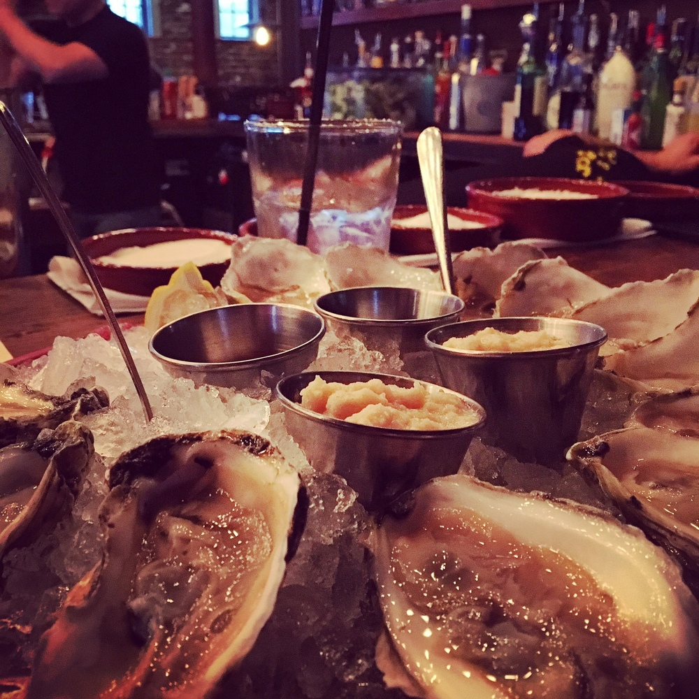 Dollar Oyster Monday at LOCO Taqueria & Oyster Bar in South Boston