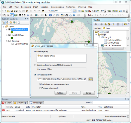 Creating office location maps on ArcGIS com - Part 1