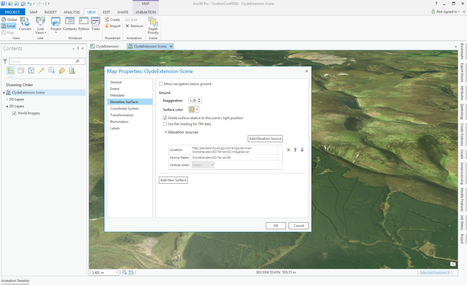 Make your 2D data look 3D with ArcGIS Pro — CommunityHub