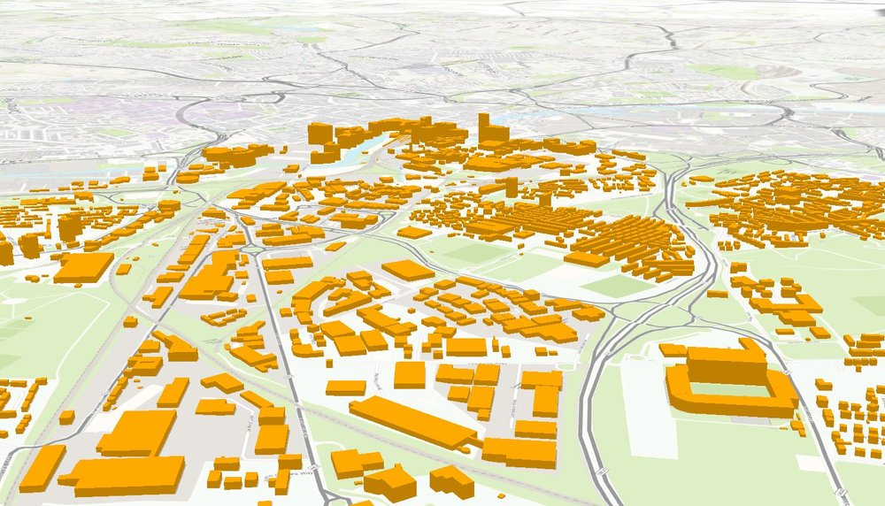 3D Buildings of Leeds