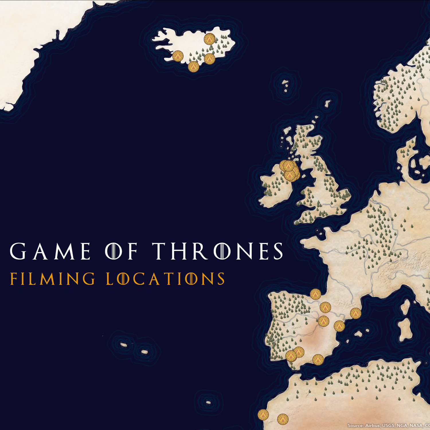 On the Map: Game of Thrones filming locations — CommunityHub