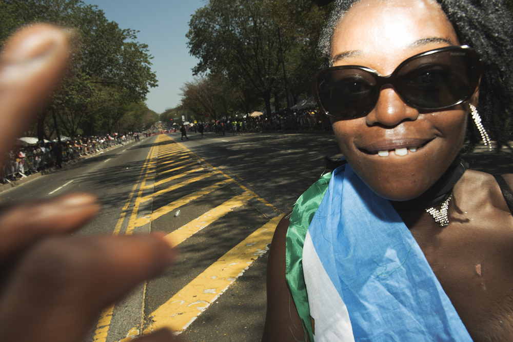 West Indian Day Parade in Brooklyn, NY. September 7, 2015.