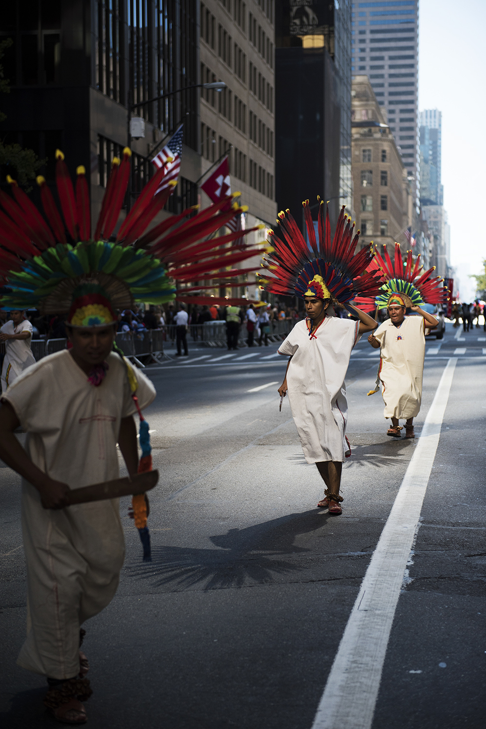Hispanic Day Parade on 5th Ave Manhattan. 2015 ©Go Nakamura photography