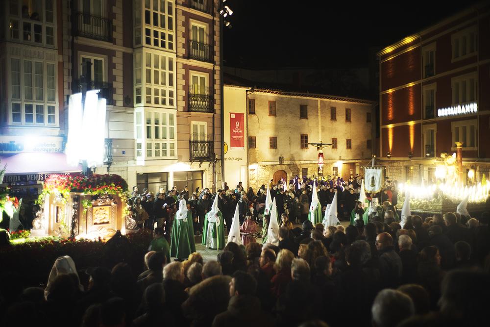 Good Friday in a town of Burgos. Burgos, Spain. 2016  ©Go Nakamura photography