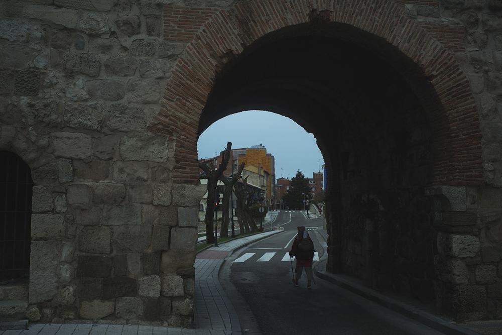 Camino de Santiago. Burgos→Hontanas 32km. Northern Spain.2016   ©    Go Nakamura     photography