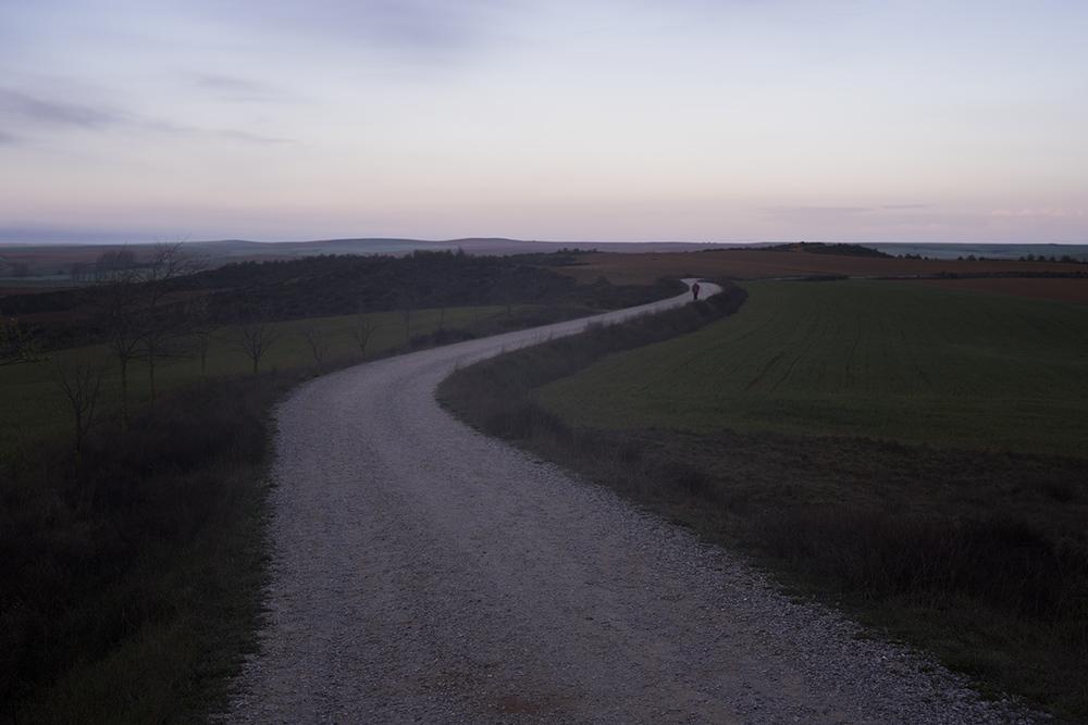 Camino de Santiago. Terradillo de los Templarios → El Burgo Ranero 30km. Northern Spain.2016   ©    Go Nakamura     photography
