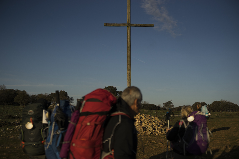 Camino de Santiago. Atapuelca → Burgos 20km. Northern Spain. 2016 ©Go Nakamura photography