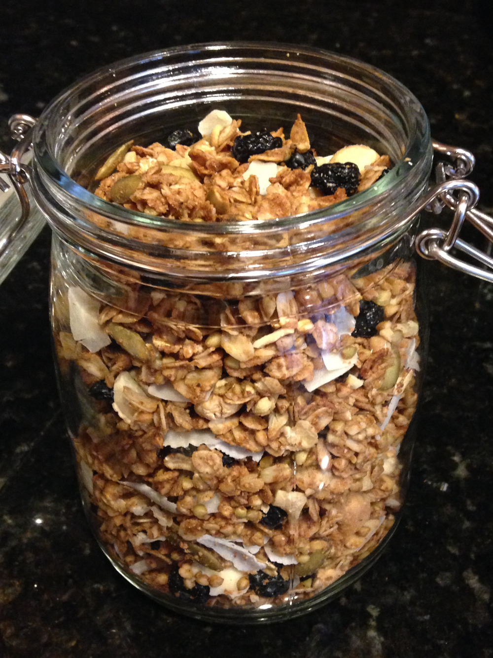 blueberry-buckwheat-granola