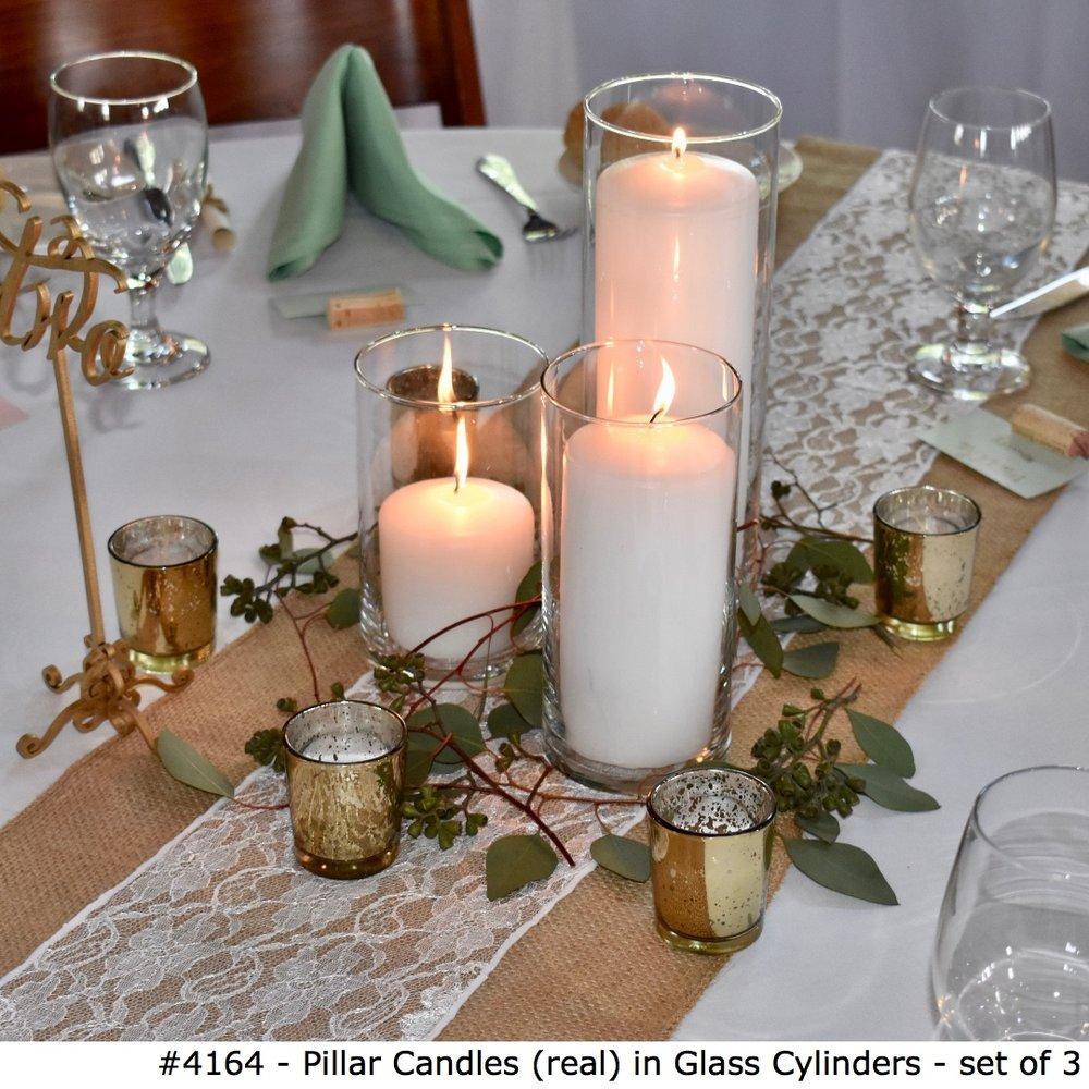 4164 Pillar Candles (real) in Glass Cylinders - set of 3.jpg